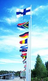 Флаги из микросетки
