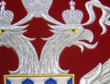 Вышивка знамен и гербов